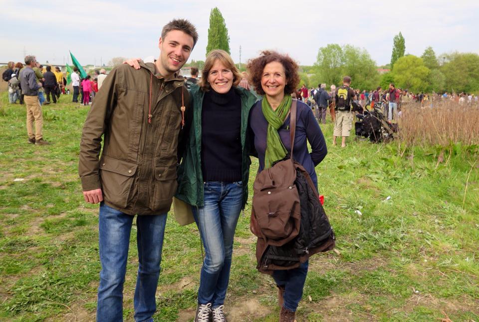 Avec Xavier Wyns, Audrey Lhoest et Marie Nagy