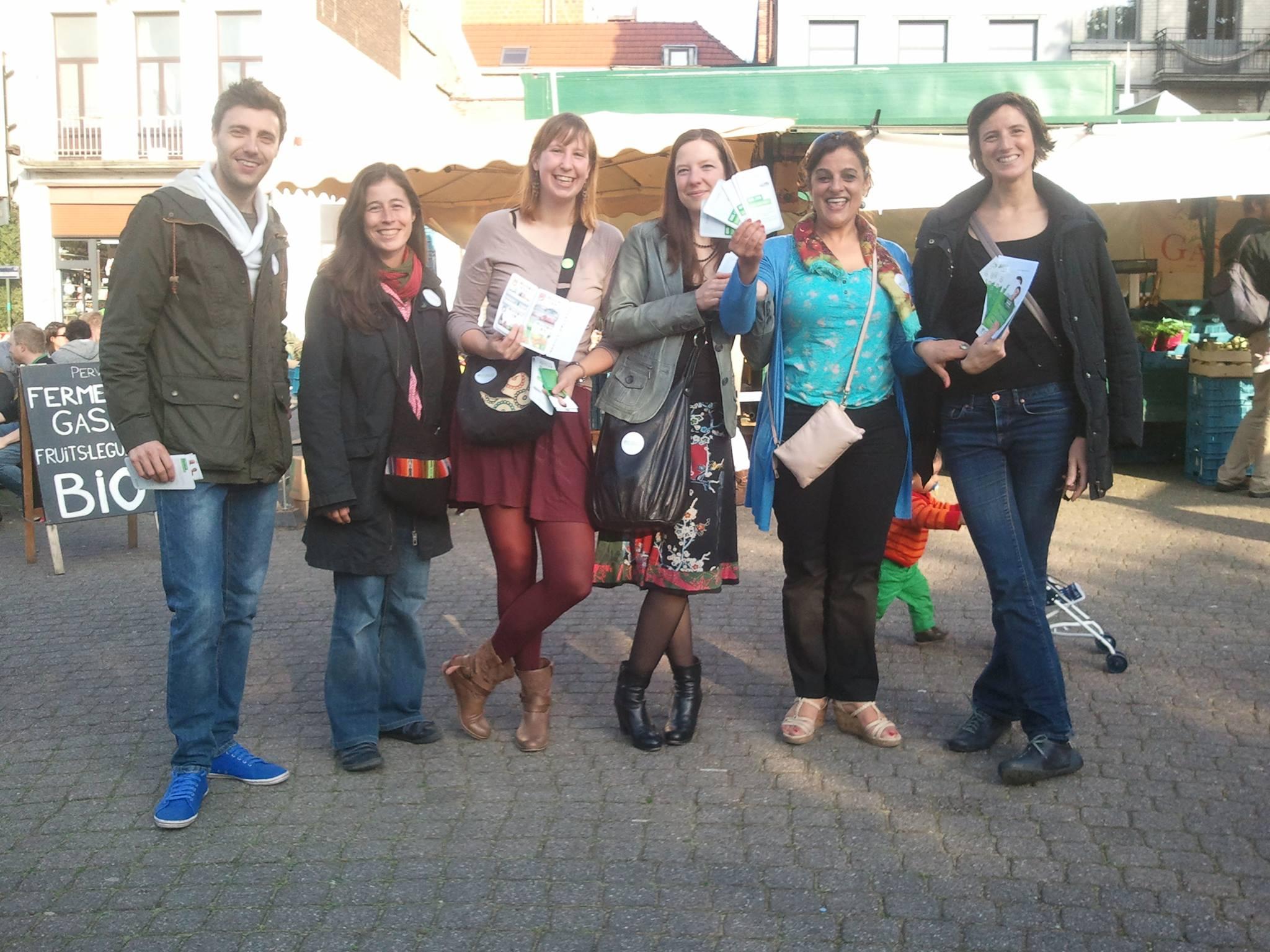 Avec Xavier Wyns, Christine Verstegen, Catherine Marion, Magali Plovie, Mariam Elhamidine, Séverine de Laveleye