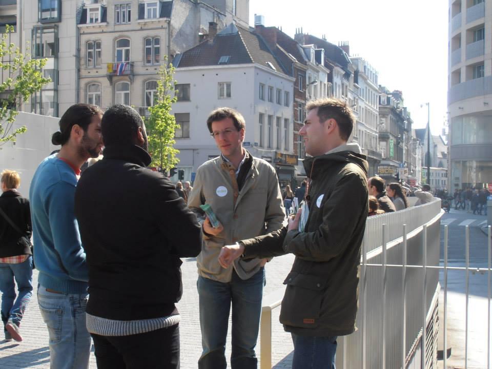 Avec Thibaud Wyngaard et Xavier Wyns