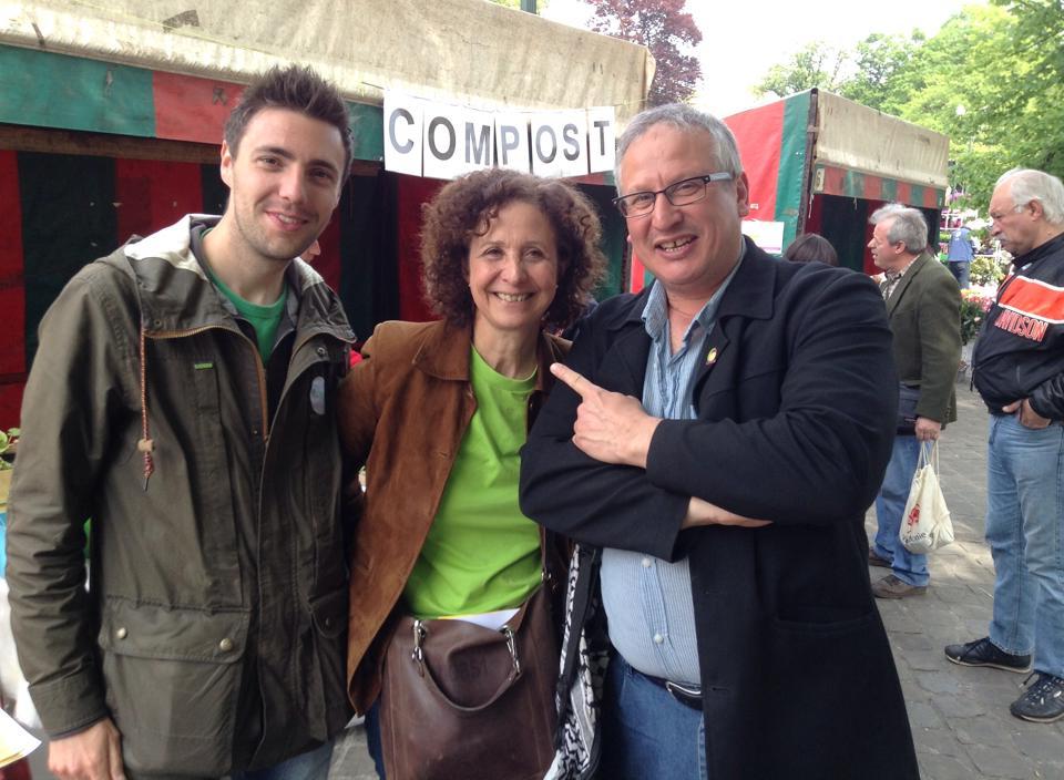 Avec Xavier Wyns, Marie Nagy et Mustapha Chairi